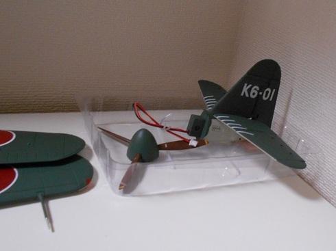 夫が作る模型飛行機「1/40晴嵐」.JPG